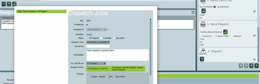 Manual Job Dispatch